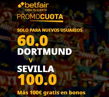 Betfair Dortmund Sevilla portada
