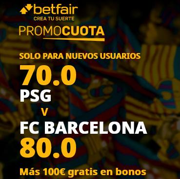 Betfair PSG Barcelona portada