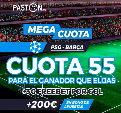 Paston PSG Barca portada