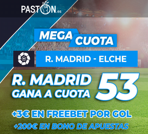 Paston Real Madrid Elche portada
