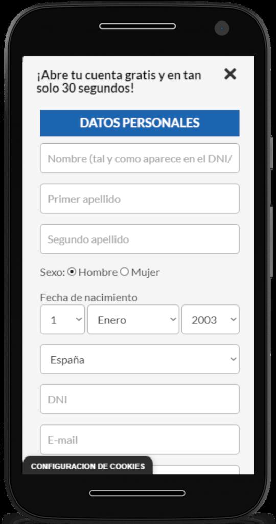 registro móvil casino barcelona