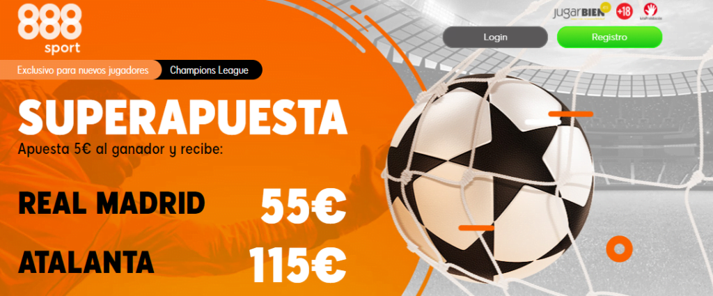 superapuesta 888sport real madrid atalanta