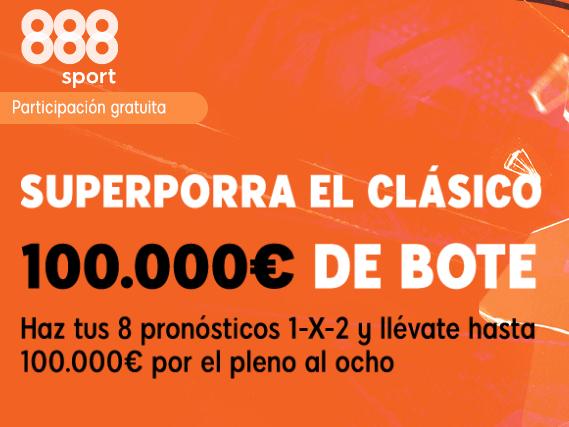 888Sport Porra8 El Clasico portada
