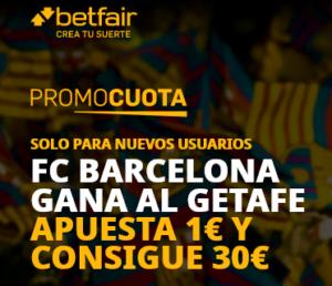 Betfair Barcelona Getafe portada
