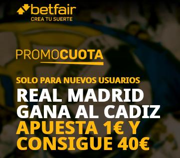 Betfair Cadiz Real Madrid portada