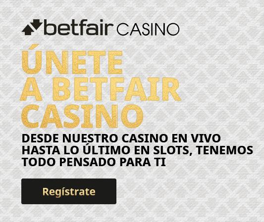 Betfair Casino portada