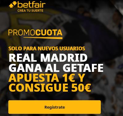 Betfair Getafe Real Madrid portada