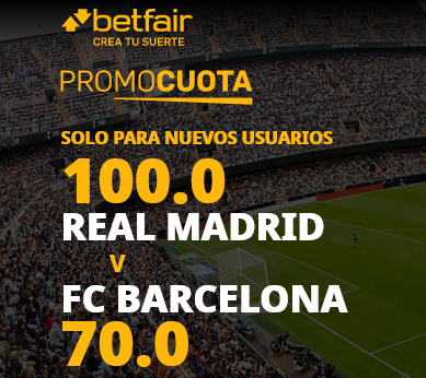 Betfair Real Madrid Barcelona portada