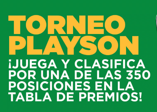 Ganabet Torneo Playson portada
