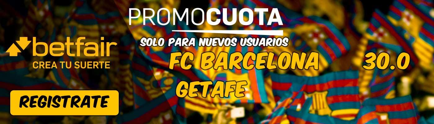 Supercuota Betfair Fc Barcelona Vs Getafe