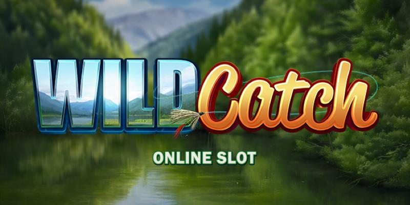 wild catch online slot logo
