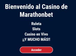 Marathonbet casino portada